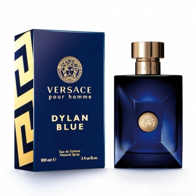 Apa de toaleta Barbati, Versace Dylan Blue, 200ml foto