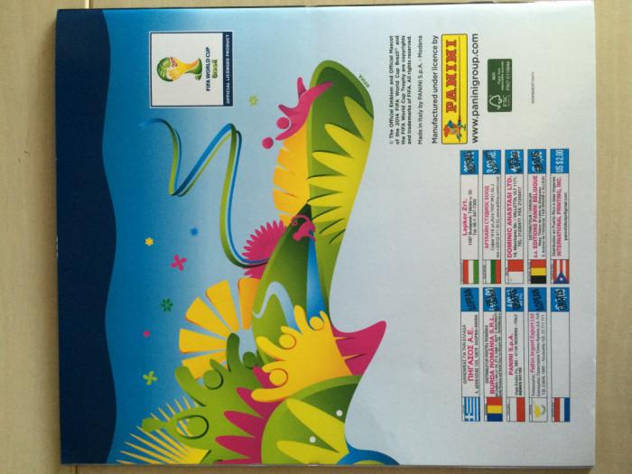 Panini World Cup Brazil 2014 Album Gol