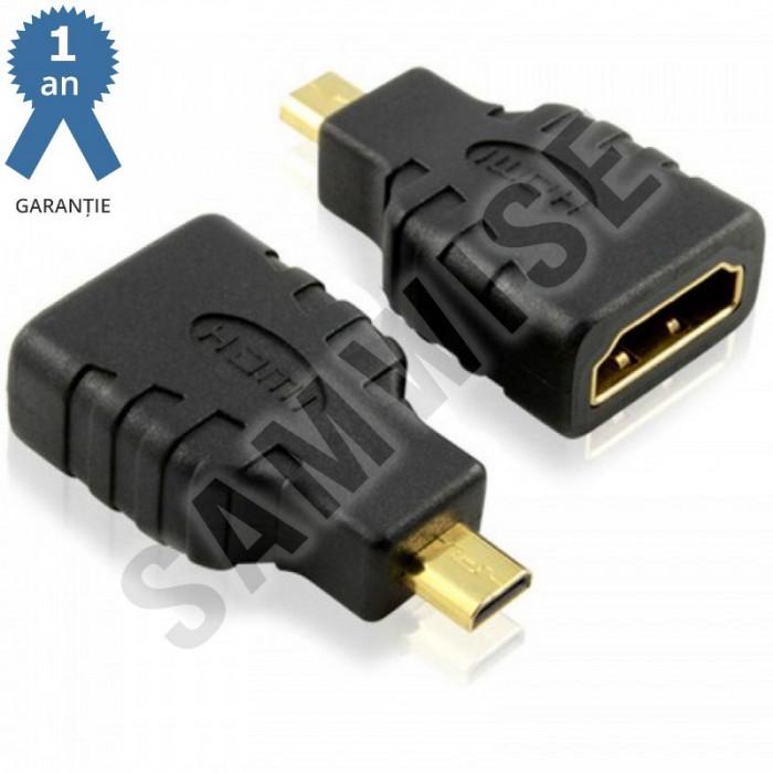 Adaptor DeTech compact HDMI mama - Micro HDMI tata