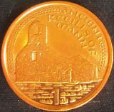Moneda exotica 1 PENNY - ISLE OF MAN, anul 2001 *cod 4552 = UNC, Europa