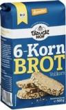 Mix de Faina Bio pentru Paine Integrala cu 6 Cereale Bauck Hof 500gr Cod: 529266