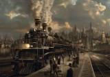 Puzzle Schmidt - Locomotiva 1.000 piese (58206)