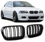 Grile duble negre BMW Seria 3 E46 Limo Touring 98-01, Diederichs