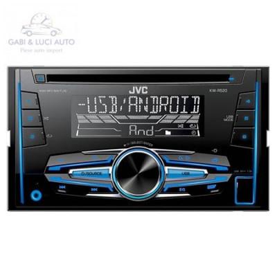 (JVC0071) RADIO CD PLAYER 2DIN 4X50W KW-R520 JVC foto
