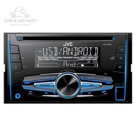 (JVC0071) RADIO CD PLAYER 2DIN 4X50W KW-R520 JVC