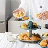 Suport pentru prajituri pe 3 niveluri