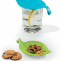 Capace din plastic pentru pahare, 4 buc kitchen club