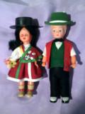 Pereche păpuși băiețel și fetița