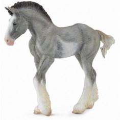 Manz Clydesdale Negru - Animal figurina
