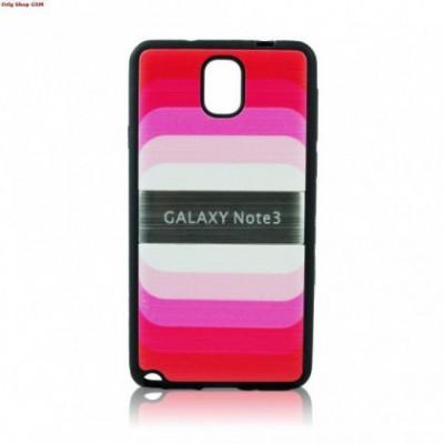 Husa plastic Samsung Galaxy Note3 N9000 Blun Pink Blister foto
