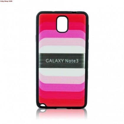 Husa plastic Samsung Galaxy Note3 N9000 Blun Pink Blister
