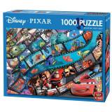 Puzzle 1000 piese Pixar movie