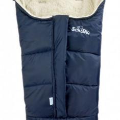 Sac de iarna Sensillo 3 in 1 lana Navy
