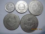 Romania (e104) - 5, 15 Bani, 1 Leu (2 pcs.), 3 Lei 1966