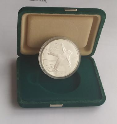 Moneda argint Proof 20 Dollars - Dolari 1987 Canada foto