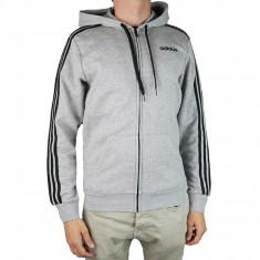 Cumpara ieftin Hanorac sport adidas Essentials 3 Stripes Fullzip Fleece DU0476 pentru Barbati