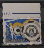 ROMANIA 2004, LP 1647, CENTENARUL FIFA MNH
