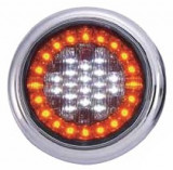 Lampa stop auto rotunda LED cu functii de Marsariei-Semnaliz