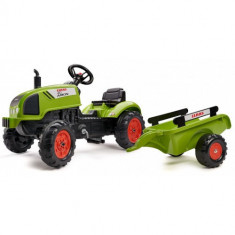 Tractor Claas Arion 410 cu Pedale si Remorca
