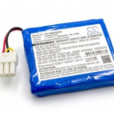 Acumulator pentru contec cms6000 u.a. 7.4v, li-polymer, 3800mah