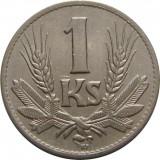 Slovacia, 1 coroana/koruna 1940 * cod 139