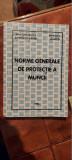 NORME GENERALE DE PROTECTIA MUNCII MINISTERUL MUNCII
