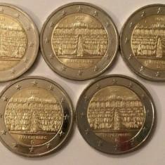 monede GERMANIA 2020, 5x2 euro comemorative (ADFGJ) Brandenburg - UNC