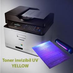 Toner invizibil UV pentru Samsung si Lexmark monocrom, Yellow, praf 50 g
