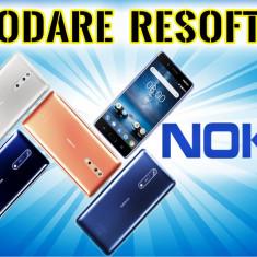 Decodare Resoftare NOKIA Android Deblocare