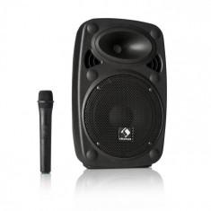 "Auna Streetstar 8, sistem mobil PA, 8"" (20 cm) woofer, UHF microfon, 200 W max."