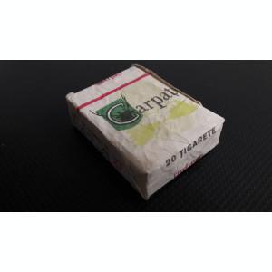 pachet vechi de tigari Carpati (nu contine tigari)