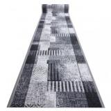 Traversa anti-alunecare Essenza gri 120 cm, 120x730 cm