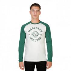 Tricou barbati Oxford University model MAGDALEN-RAGLAN-ML, culoare Verde, marime XXL