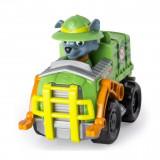 Figurina Paw Patrol Rescue Pup Racers - Camionul lui Rocky