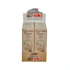 Minitableta Ciocolata Bio Neagra cu 73% Cacao Pronat 25gr Cod: cs287