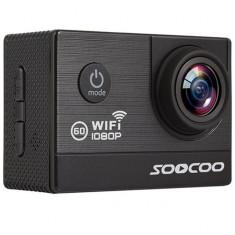 Camera Video Sport iUni Dare C20 Black, WiFi, GPS, mini HDMI, 2 inch LCD, 1080P Full HD, Unghi filmare 170 grade by Soocoo