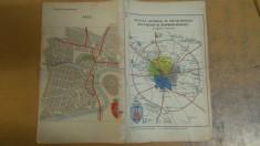 Planul General al Municipiului București și împrejurimile + Arad foto