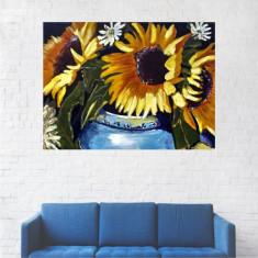 Tablou Canvas, Floarea Soarelui - 80 x 100 cm