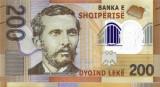 ALBANIA █ bancnota █ 200 Leke █ 2017 (2019) █ Seria AA █ POLYMER █ UNC