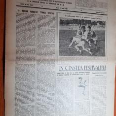 sportul popular 21 iulie 1953-iolanda balas,concurs de inot la cluj,motociclism