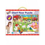Giant Floor Puzzle: Ferma, 30 piese, 3 ani+, Galt