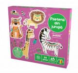 Cumpara ieftin Puzzle Premium - Prietenii din jungla, 24 piese, Noriel