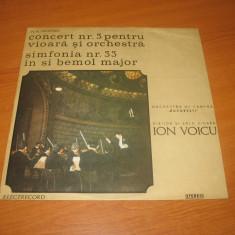 Ion Voicu - Mozart (LP,vinil,vinyl)