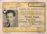 Legitimatie CFR Eugen Frunza 1953