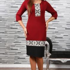 Rochie Stilizata cu Motive Traditionale Camila 4