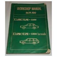Dacia 1300 dacia 1300 break workshop manual m.r. 150