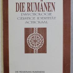 DIE RUMANIEN , PSYCHOLOGIE , GEISTIGE IDENTITAT , SCHICKSAL , 1999