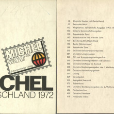 Michel Deutchland Katalog 1972 - the book