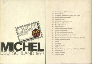 Michel Deutchland Katalog 1972 - the book