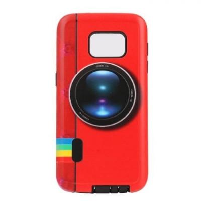 Husa SAMSUNG Galaxy S5 - Fashion 2&1 (Red Camera) foto